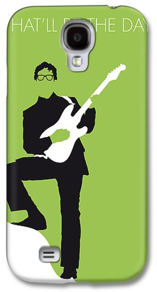 Minimalist Poster Galaxy S4 Cases - No056 MY BUDDY HOLLY Minimal Music poster Galaxy S4 Case by Chungkong Art