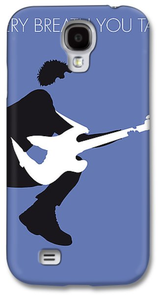Cult Digital Art Galaxy S4 Cases - No058 MY THE POLICE Minimal Music poster Galaxy S4 Case by Chungkong Art