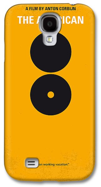 No088 My The American Minimal Movie Poster Galaxy S4 Case by Chungkong Art