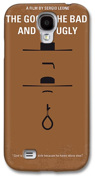 Eyes Galaxy S4 Cases - No090 My The Good The Bad The Ugly minimal movie poster Galaxy S4 Case by Chungkong Art