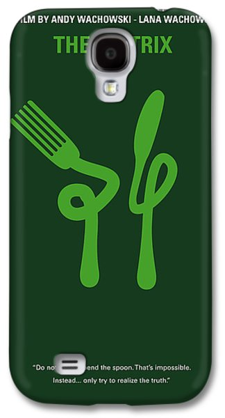 Reality Galaxy S4 Cases - No093 My The Matrix minimal movie poster Galaxy S4 Case by Chungkong Art