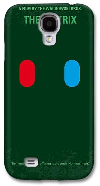 Rabbit Digital Galaxy S4 Cases - No117 My MATRIX minimal movie poster Galaxy S4 Case by Chungkong Art