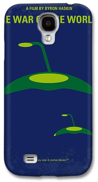 Wells Galaxy S4 Cases - No118 My WAR OF THE WORLDS minimal movie poster Galaxy S4 Case by Chungkong Art