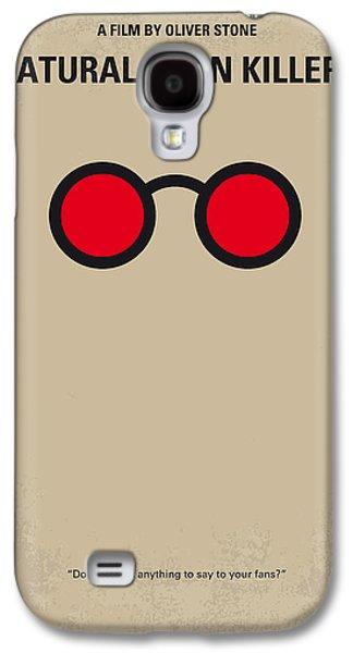 Stone Digital Galaxy S4 Cases - No139 My Natural Born Killers minimal movie poster Galaxy S4 Case by Chungkong Art