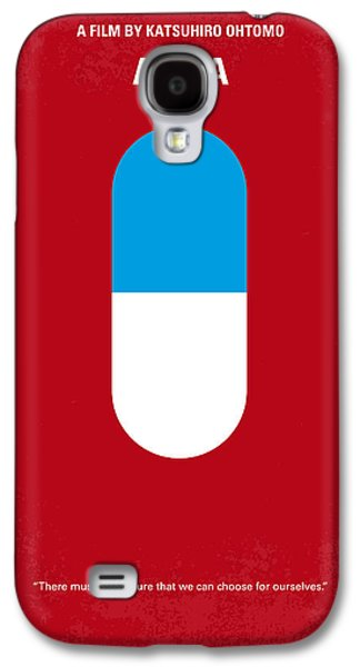 No144 My Akira Minimal Movie Poster Galaxy S4 Case by Chungkong Art