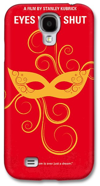 Eyes Galaxy S4 Cases - No164 My Eyes wide shut minimal movie poster Galaxy S4 Case by Chungkong Art