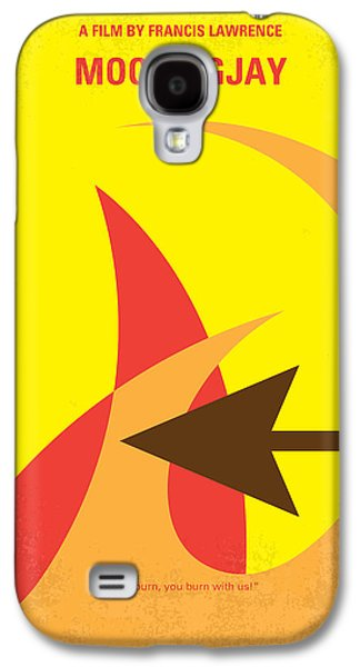 Fight Digital Art Galaxy S4 Cases - No175-3 My MOCKINGJAY - The Hunger Games minimal movie poster Galaxy S4 Case by Chungkong Art