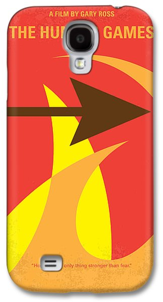 Fight Digital Art Galaxy S4 Cases - No175 My Hunger Games minimal movie poster Galaxy S4 Case by Chungkong Art