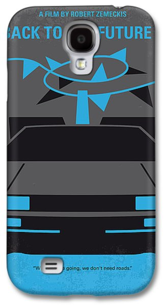 Michael Digital Galaxy S4 Cases - No183 My Back to the Future minimal movie poster-part II Galaxy S4 Case by Chungkong Art