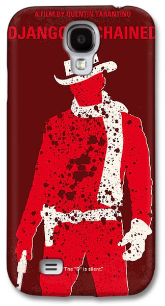 Wall Art Prints Digital Art Galaxy S4 Cases - No184 My Django Unchained minimal movie poster Galaxy S4 Case by Chungkong Art