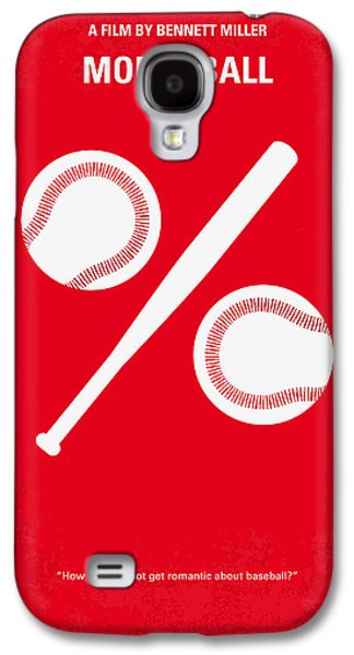 League Galaxy S4 Cases - No191 My Moneyball minimal movie poster Galaxy S4 Case by Chungkong Art