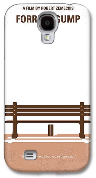Wall Art Prints Digital Art Galaxy S4 Cases - No193 My Forrest Gump minimal movie poster Galaxy S4 Case by Chungkong Art