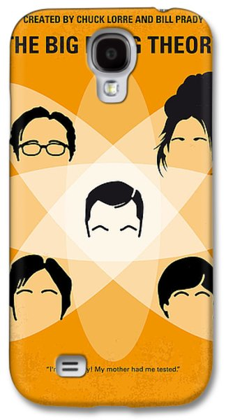 Theory Galaxy S4 Cases - No196 My The Big Bang Theory minimal poster Galaxy S4 Case by Chungkong Art