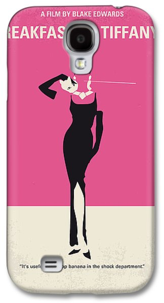 No204 My Breakfast At Tiffanys Minimal Movie Poster Galaxy S4 Case by Chungkong Art
