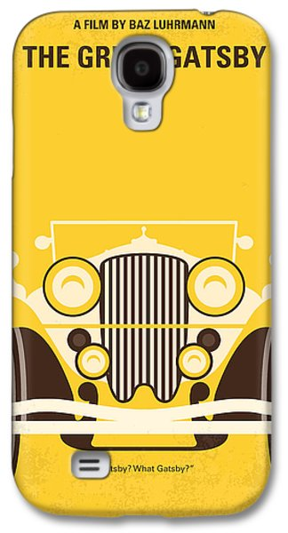Wall Art Prints Digital Art Galaxy S4 Cases - No206 My The Great Gatsby minimal movie poster Galaxy S4 Case by Chungkong Art