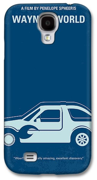 Mike Galaxy S4 Cases - No211 My Waynes World minimal movie poster Galaxy S4 Case by Chungkong Art