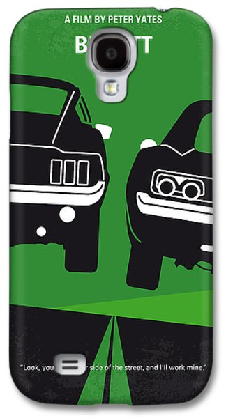 Wall Art Prints Digital Art Galaxy S4 Cases - No214 My BULLITT minimal movie poster Galaxy S4 Case by Chungkong Art