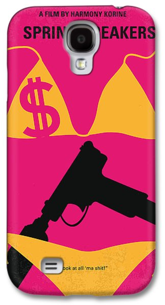 Jail Galaxy S4 Cases - No218 My SPRING BREAKERS minimal movie poster Galaxy S4 Case by Chungkong Art