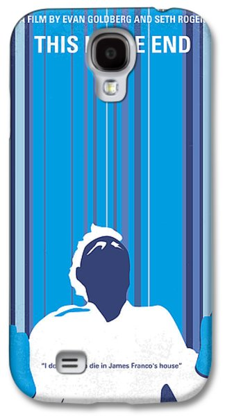 The Hills Galaxy S4 Cases - No220 My This is the end minimal movie poster Galaxy S4 Case by Chungkong Art