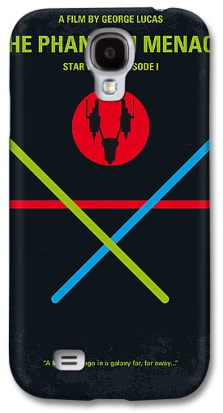 Hope Digital Galaxy S4 Cases - No223 My STAR WARS Episode I The PHANTOM MENACE minimal movie poster Galaxy S4 Case by Chungkong Art