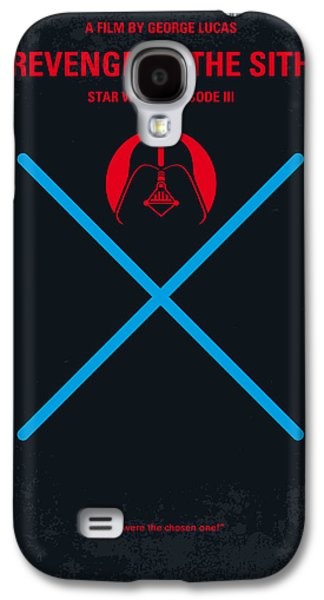 Hope Digital Galaxy S4 Cases - No225 My STAR WARS Episode III REVENGE OF THE SITH minimal movie poster Galaxy S4 Case by Chungkong Art