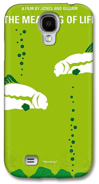 No226 My The Meaning Of Life Minimal Movie Poster Galaxy S4 Case by Chungkong Art