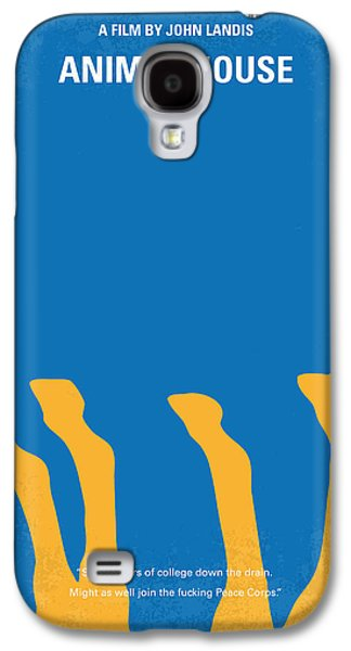 Animals Digital Galaxy S4 Cases - No230 My Animal House minimal movie poster Galaxy S4 Case by Chungkong Art