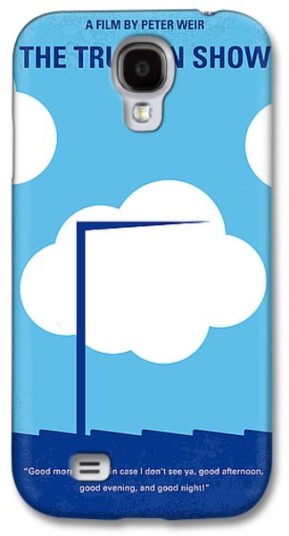 Hidden Galaxy S4 Cases - No234 My Truman show minimal movie poster Galaxy S4 Case by Chungkong Art