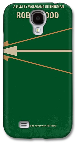 Animation Galaxy S4 Cases - No237 My Robin Hood minimal movie poster Galaxy S4 Case by Chungkong Art