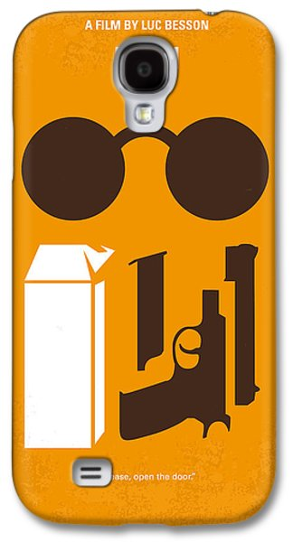 New York Digital Galaxy S4 Cases - No239 My LEON minimal movie poster Galaxy S4 Case by Chungkong Art