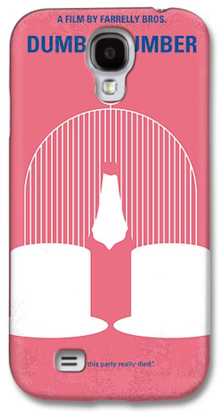 No241 My Dumb And Dumber Minimal Movie Poster Galaxy S4 Case by Chungkong Art
