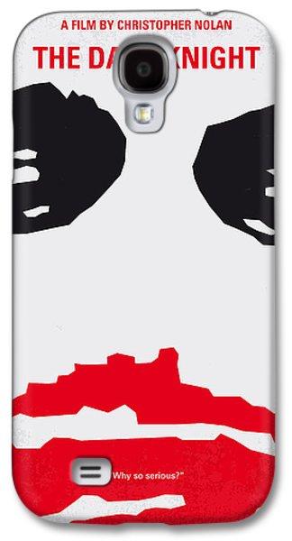 Dark Digital Galaxy S4 Cases - No245 My The Dark Knight minimal movie poster Galaxy S4 Case by Chungkong Art