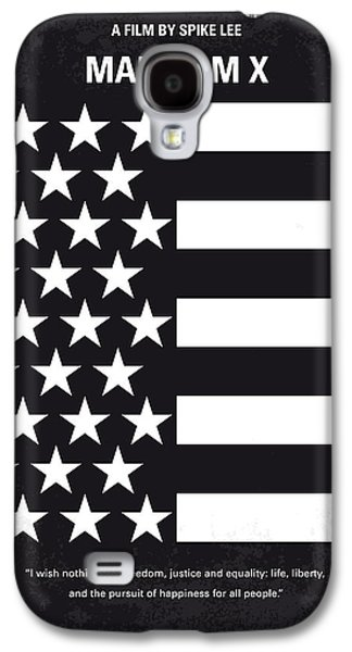 Jail Galaxy S4 Cases - No250 My MALCOLM X minimal movie poster Galaxy S4 Case by Chungkong Art