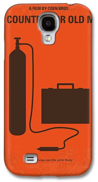 No253 My No Country For Old Men Minimal Movie Poster Galaxy S4 Case by Chungkong Art