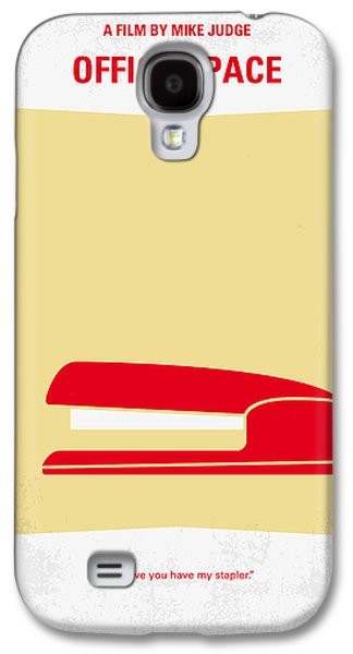 Office Galaxy S4 Cases - No255 My OFFICE SPACE minimal movie poster Galaxy S4 Case by Chungkong Art