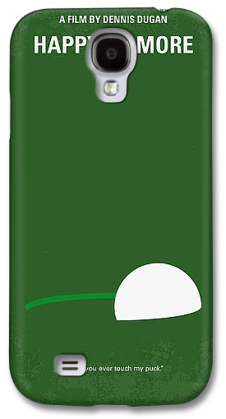 No256 My Happy Gilmore Minimal Movie Poster Galaxy S4 Case by Chungkong Art