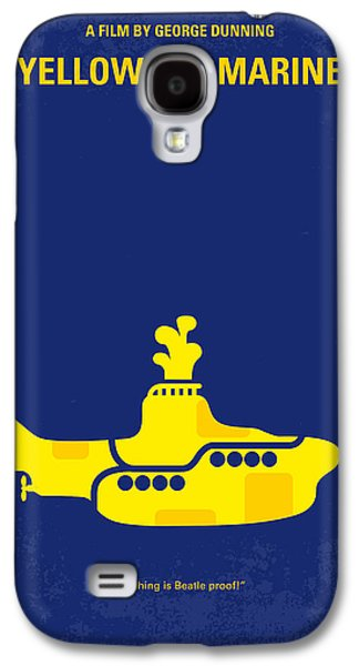 Beatles Galaxy S4 Cases - No257 My YELLOW SUBMARINE minimal movie poster Galaxy S4 Case by Chungkong Art