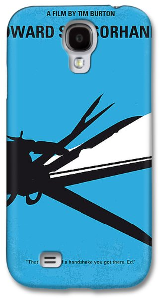 No260 My Scissorhands Minimal Movie Poster Galaxy S4 Case by Chungkong Art