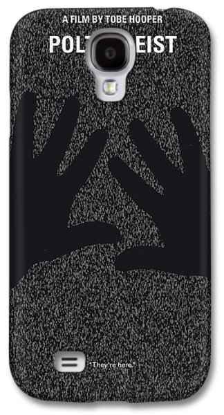 No266 My Poltergeist Minimal Movie Poster Galaxy S4 Case by Chungkong Art
