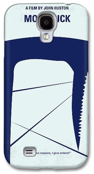 Fan Art Galaxy S4 Cases - No267 My MOBY DICK minimal movie poster Galaxy S4 Case by Chungkong Art