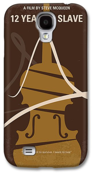 Slaves Galaxy S4 Cases - No268 My 12 years a slave minimal movie poster Galaxy S4 Case by Chungkong Art