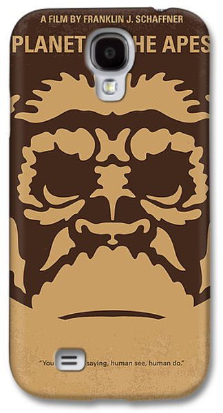 Planet Galaxy S4 Cases - No270 My PLANET OF THE APES minimal movie poster Galaxy S4 Case by Chungkong Art