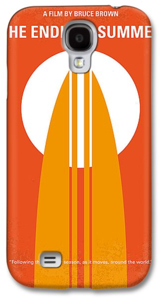 Sport Digital Galaxy S4 Cases - No274 My The Endless Summer minimal movie poster Galaxy S4 Case by Chungkong Art