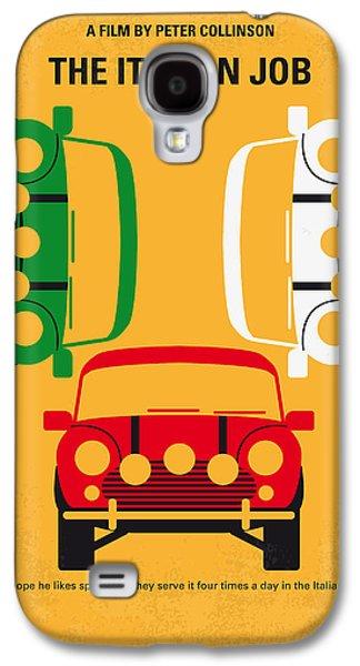 No279 My The Italian Job Minimal Movie Poster Galaxy S4 Case by Chungkong Art