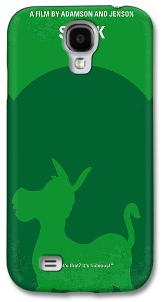 Mike Galaxy S4 Cases - No280 My SHREK minimal movie poster Galaxy S4 Case by Chungkong Art