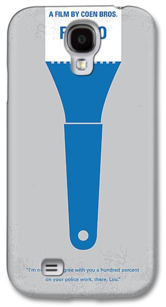 Cold Galaxy S4 Cases - No283 My FARGO minimal movie poster Galaxy S4 Case by Chungkong Art