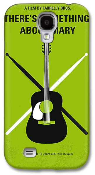Sex Digital Galaxy S4 Cases - No286 My Theres Something About Mary minimal movie poster Galaxy S4 Case by Chungkong Art