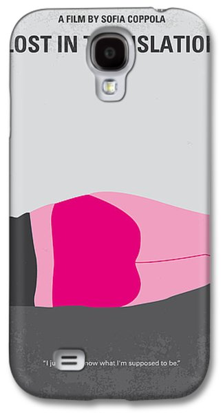 Charlotte Digital Galaxy S4 Cases - No287 My Lost in Translation minimal movie poster Galaxy S4 Case by Chungkong Art