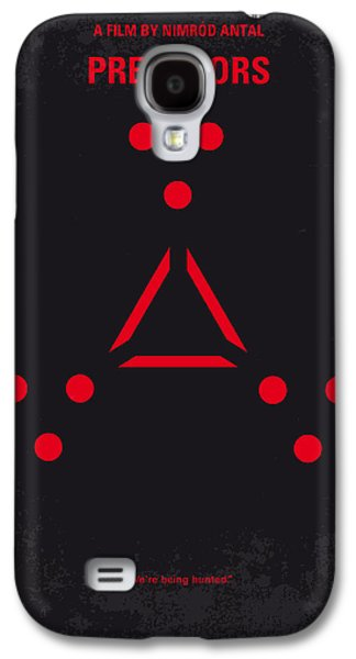 No289 My Predators Minimal Movie Poster Galaxy S4 Case by Chungkong Art
