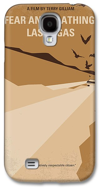 Psychedelic Galaxy S4 Cases - No293 My Fear and loathing Las vegas minimal movie poster Galaxy S4 Case by Chungkong Art